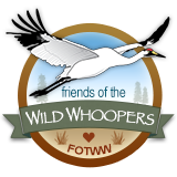 Friends of the Wild Whoopers logo